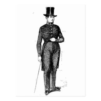 Carte Postale Jeune monsieur pimpant