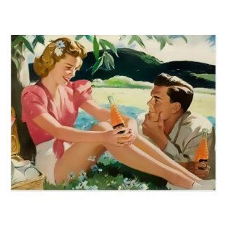 Carte Postale Jeunes couples