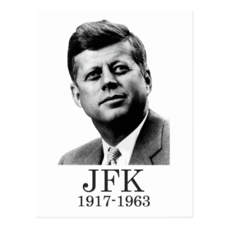 Carte Postale JFK - John F. Kennedy