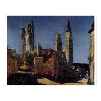 Carte Postale Jimieges par Camille Corot