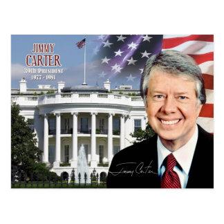 Carte Postale Jimmy Carter - trente-neuvième président des