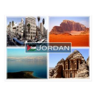 Carte Postale JO Jordanie -