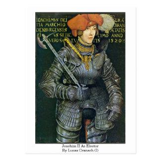 Carte Postale Joachim II comme électeur par Lucas Cranach (i)