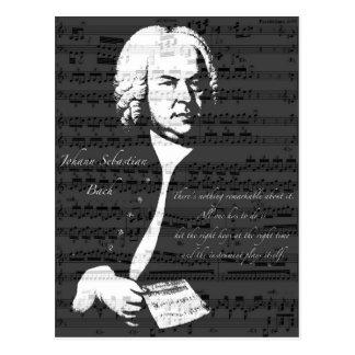 Carte Postale Johann Sebastian Bach