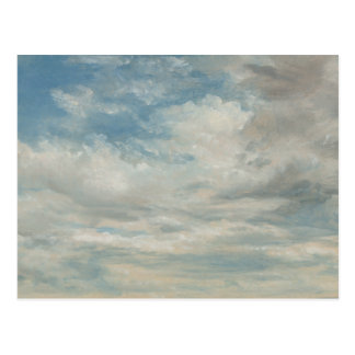 Carte Postale John Constable - nuages