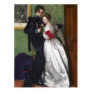 Carte Postale John Everett Millais- le Brunswicker noir