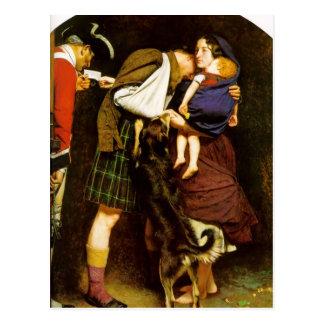 Carte Postale John Everett Millais- l'ordre de la libération