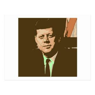 Carte Postale John F. Kennedy