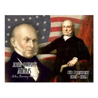 Carte Postale John Quincy Adams - 6ème président des États-Unis