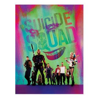 Carte Postale Joker du peloton | de suicide et affiche de film