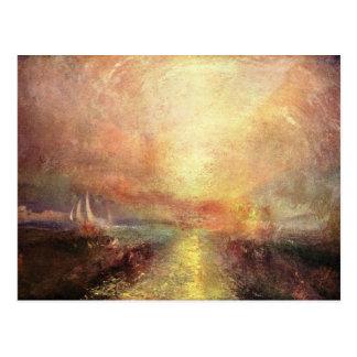 Carte Postale Joseph Mallord Turner - faites de la navigation de
