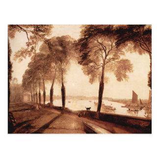 Carte Postale Joseph Mallord Turner - terrasse de Mortlake