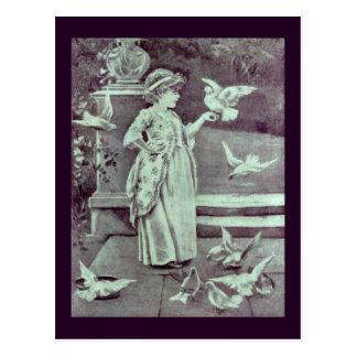 Carte Postale Josie et les pigeons