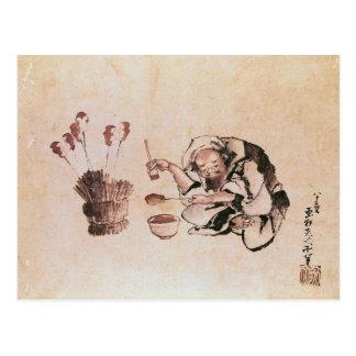 Carte Postale Jouets de peinture d'artisan
