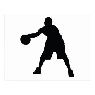 Carte Postale Joueur de basket