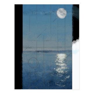 Carte Postale Jour 2 de genèse : Peinture numérique des eaux