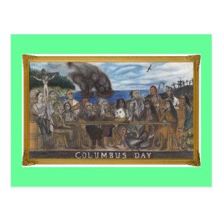 Carte Postale Jour de Columbus