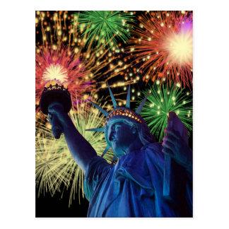 Carte Postale Jour de la Déclaration d'Indépendance !