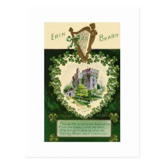 Carte Postale Jour de la Saint Patrick de Carte-Cru