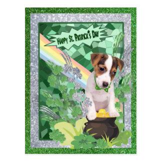 Carte Postale Jour de la Saint Patrick heureux du numéro 1 de