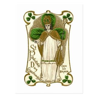 Carte Postale Jour de la Saint Patrick victorien