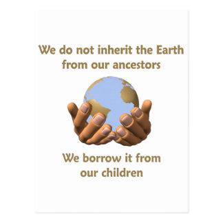 Carte Postale Jour de la terre