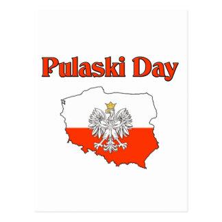Carte Postale Jour de Pulaski
