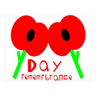 Carte Postale Jour de souvenir, jour d'armistice ou jour de