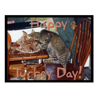 Carte Postale Jour heureux de la Turquie !