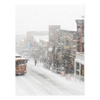 Carte Postale jour neigeux
