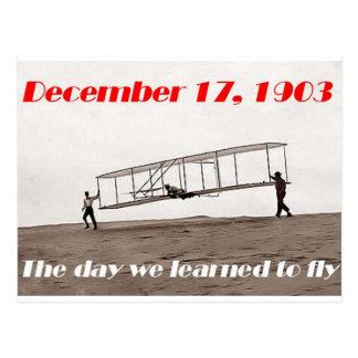 Carte Postale Jour où nous avons appris à piloter
