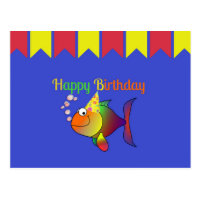 Invitations Faire Part Cartes Anniversaire Poissons Zazzle Fr