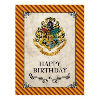Carte Postale Joyeux anniversaire de Harry Potter | Hogwarts