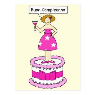 Carte Bonne Fete En Italien.Cartes De Vœux Amusement Italien Zazzle Fr