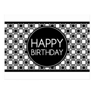 Carte Postale joyeux anniversaire (studioSquares)