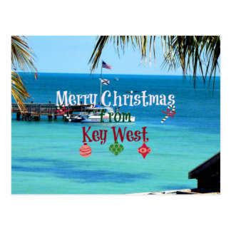 Carte Postale Joyeux Noël de Key West