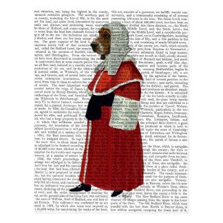 Carte Postale Juge de Basset Hound plein