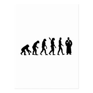 Carte Postale Juge d'évolution