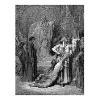 Carte Postale Jugement de Solomon