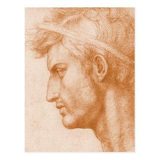 Carte Postale Jules César par Andrea del Sarto