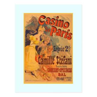 Carte Postale Jules Chéret, publicité, 1891