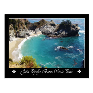 Carte Postale Julia Pfeiffer brûle le parc d'état, la Californie