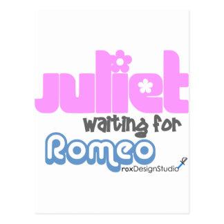 Carte Postale Juliet Romeo de attente