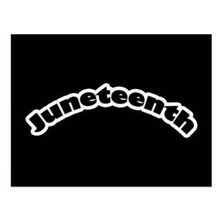 Carte postale : Juneteenth