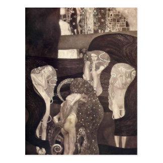 Carte Postale Jurisprudence de Gustav Klimt- (état final)