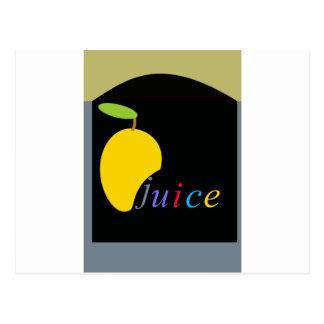 Carte Postale jus de mangue
