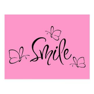 Carte Postale Juste sourire