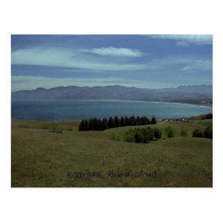 Carte Postale Kaikoura, Nouvelle Zélande