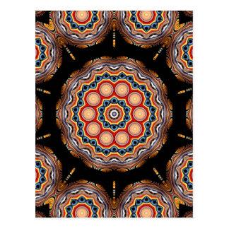 Carte Postale Kaléidoscope de cercles
