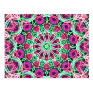 Carte Postale Kaléidoscope de jardin d'agrément